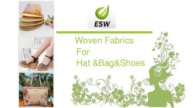 Woven Fabrics For Hat &Bag&Shoes