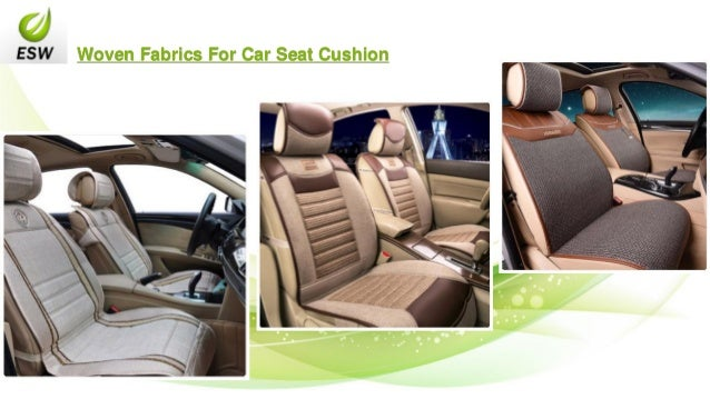 Woven Fabrics For Car Seat Cushion