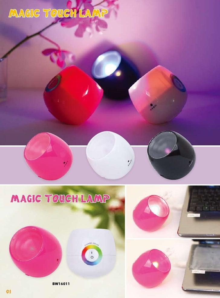 MAGIC TOUCH LAMP MAGIC TOUCH LAMP        BW1601101