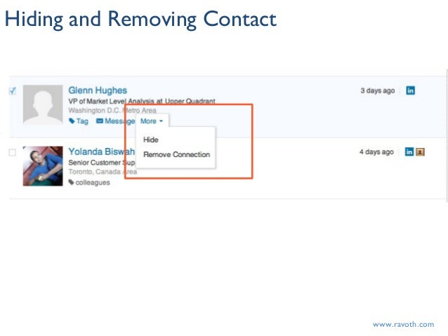 1a52fee363a7 ... www.ravoth.comHiding and Removing Contact ...