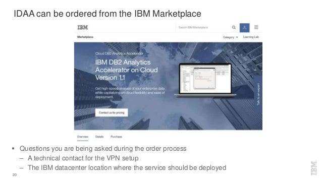 IBM World of Watson 2016 - DB2 Analytics Accelerator on Cloud