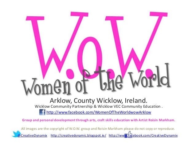 Arklow, County Wicklow, Ireland.          Wicklow Community Partnership & Wicklow VEC Community Education .               ...