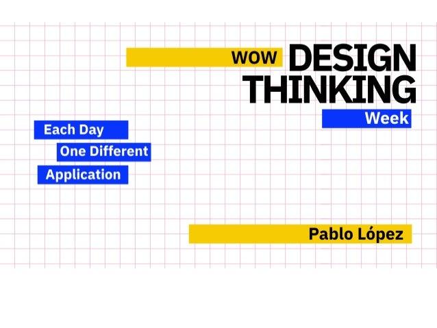 WOW Design Thinking Slide 1