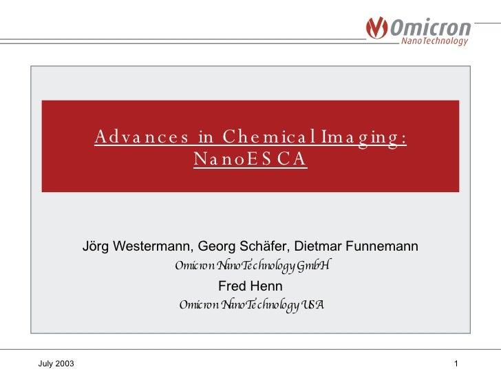 <ul><li>Jörg Westermann, Georg Schäfer, Dietmar Funnemann </li></ul><ul><li>Omicron NanoTechnology GmbH </li></ul><ul><li>...