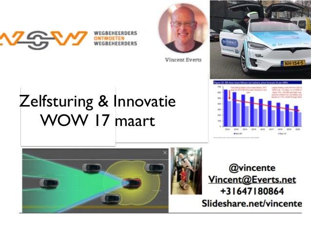 Zelfsturing & Innovatie WOW 17 maart