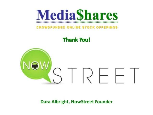 Dara Albright, NowStreet Founder