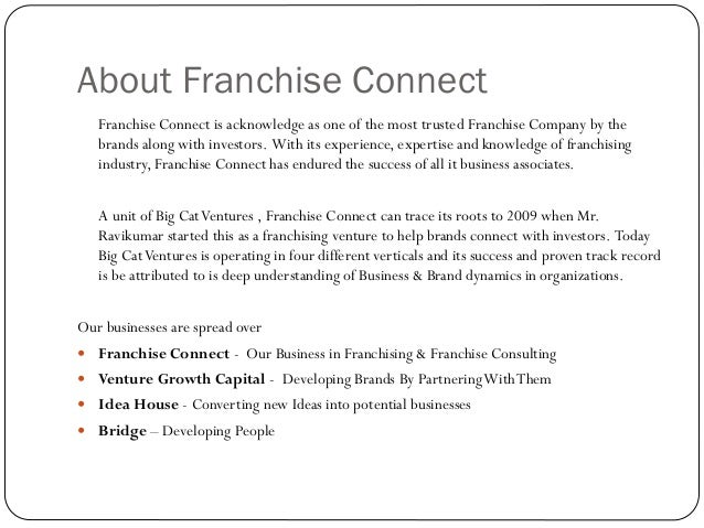 franchise email sample