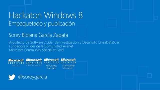  Recuerda definir tu politica de privacidad Debe ser publicada en el sitio indicado en el Windows Store Si compartes in...