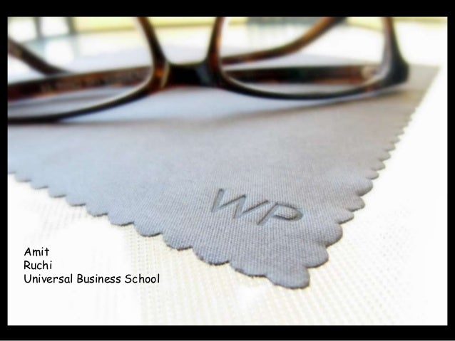 AmitRuchiUniversal Business School