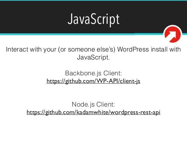 how to create json api in wordpress
