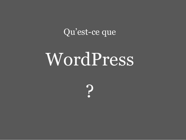 WordPress 3.5 Release Celebration (Geneva Meetup) Slide 3