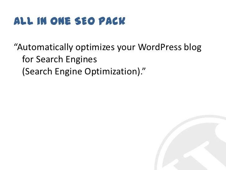 WordPress meetup - 10 plugins slideshare - 웹