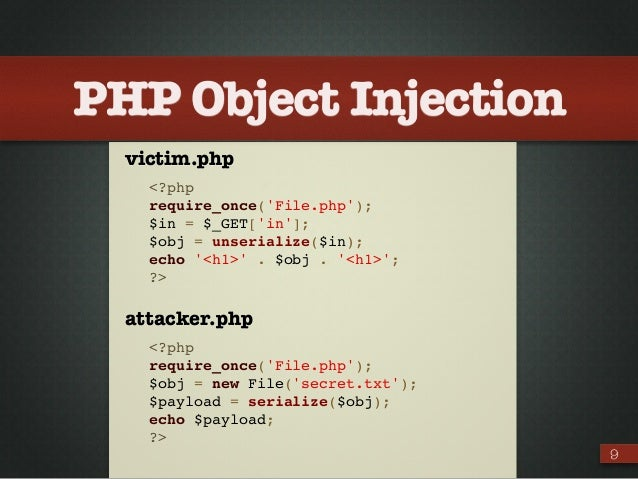 php injection
