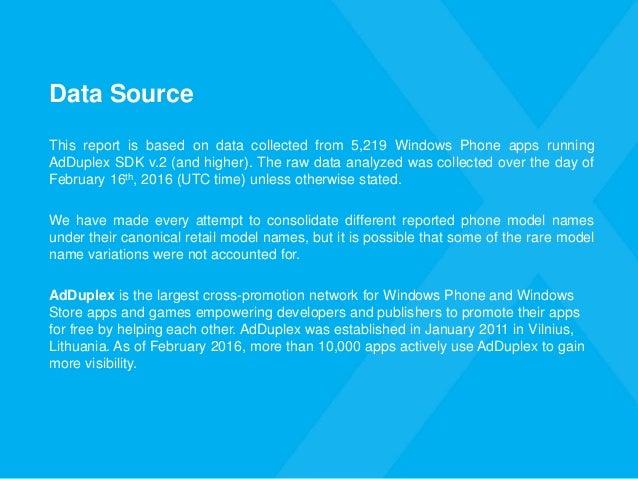 AdDuplex Windows Phone Device Statistics Report for February, 2016 Slide 3