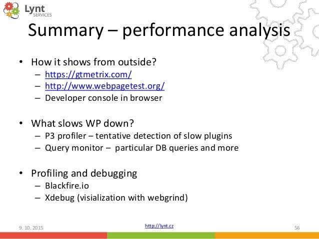 WordPress performance tuning