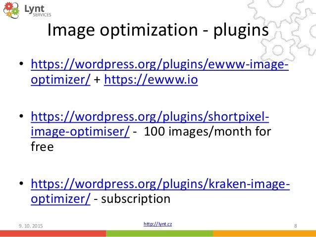 WordPress performance tuning slideshare - 웹