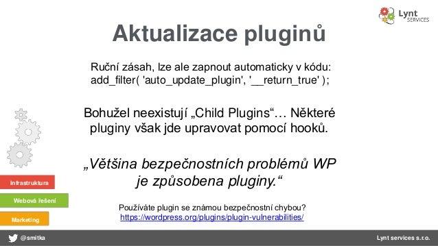 WordPress: Základy - bezpečnost 3x3