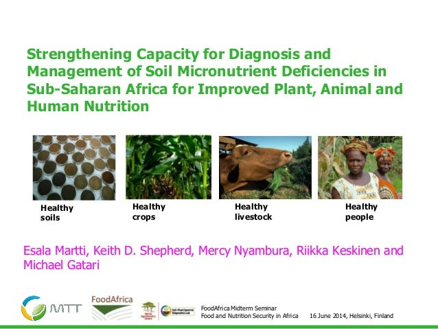 16 June 2014, Helsinki, Finland FoodAfrica Midterm Seminar Food and Nutrition Security in Africa Strengthening Capacity fo...