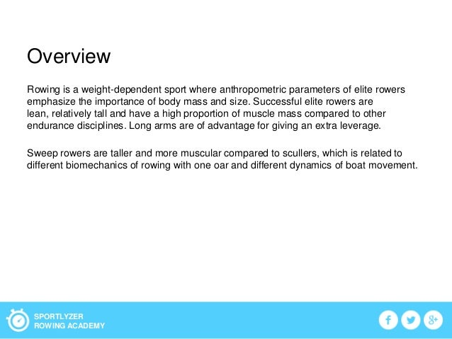 The development of anthropometric profile Slide 2
