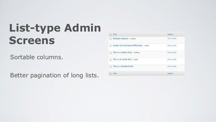 WordPress 3.1 Preview slideshare - 웹