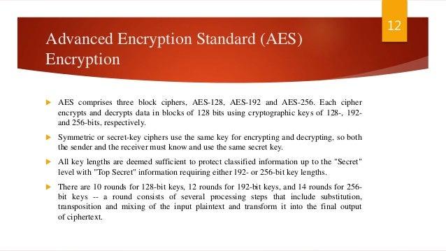 128 bit or 256 bit aes encryption crack
