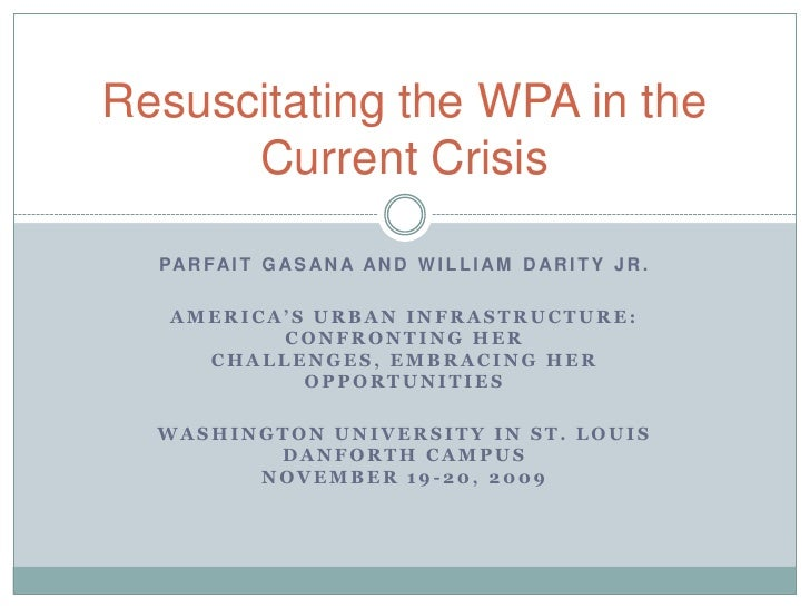 Parfait Gasana and William Darity Jr.<br />America's Urban Infrastructure: Confronting Her Challenges, Embracing Her Oppor...