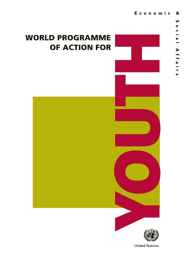 YOUTHWORLD PROGRAMME    OF ACTION FOR