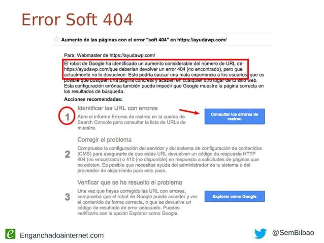 Enganchadoainternet.com @SemBilbao Enlaces permanentes ¿Y si ya tengo muchas URL indexadas?