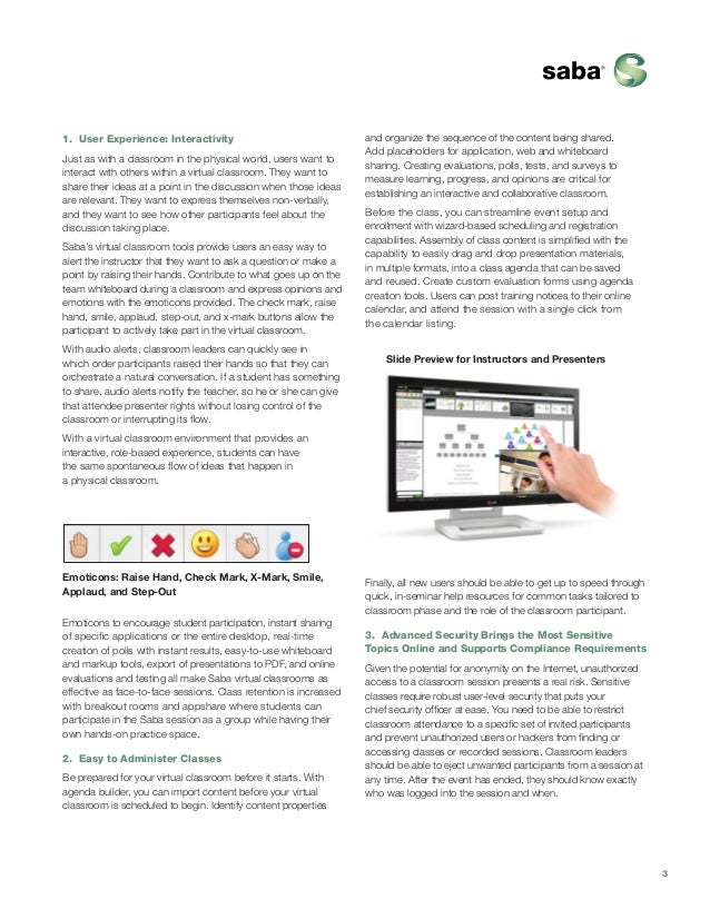saba virtual classroom guide rh slideshare net Fife Web Guide Fife Web Guide