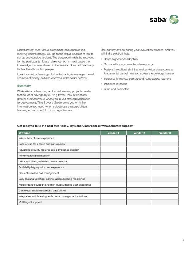 saba virtual classroom guide rh slideshare net El Web Guides Web Media Center Guide
