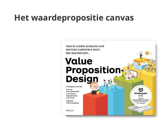 Het waardepropositie canvas