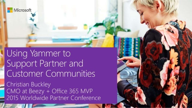 One of the most compelling use cases for the Yammer platform is how quick and easy it is to connect with partners and expa...