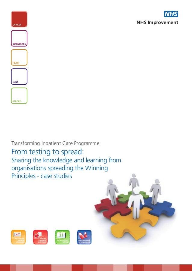 NHSCANCER                                          NHS ImprovementDIAGNOSTICSHEARTLUNGSTROKETransforming Inpatient Care Pr...