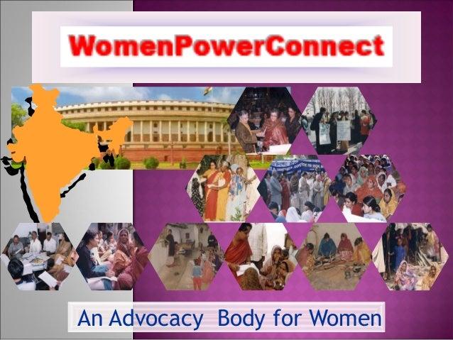 An Advocacy Body for Women