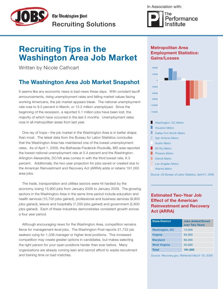 In Association with:                         Recruiting Solutions   Recruiting Tips in the                                ...
