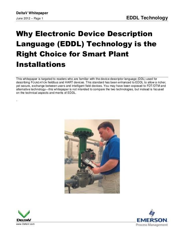 EDDL (Electronic Device Description Language)