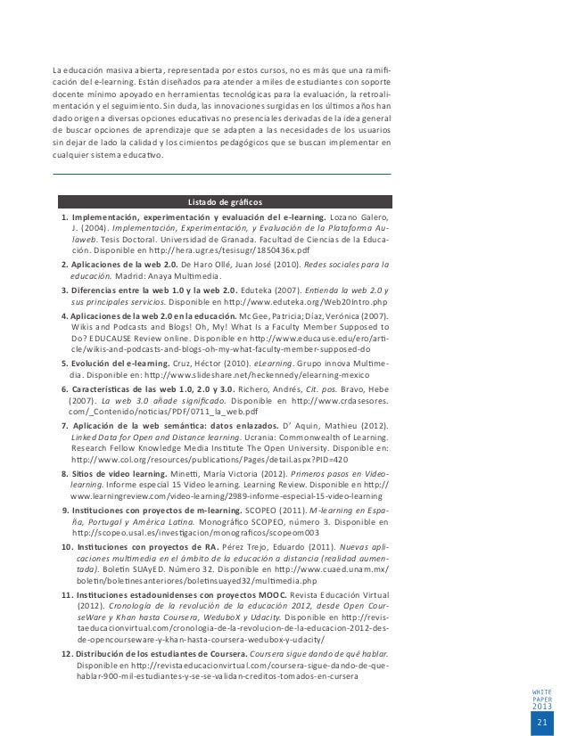 thesis on e learning In an applied thesis, the aim is to come up with something useful that can be applied in the field, such as the design of an e-portfolio template that can be used for an end of course assessment, rather than the traditional research thesis.