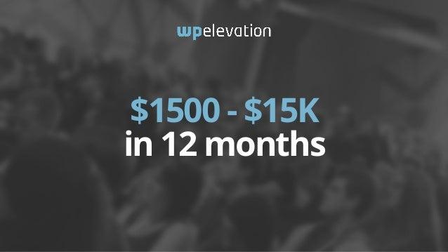WP Elevation Blueprint slideshare - 웹