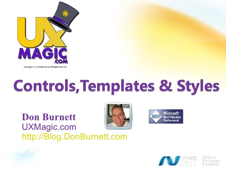 Don Burnett UXMagic.com http://Blog.DonBurnett.com