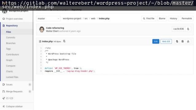 wp-config.php define( 'WP_SITEURL', 'https://de.wp.org/wp' ); define( 'WP_HOME', 'https://de.wp.org' ); define( 'WP_CONTEN...