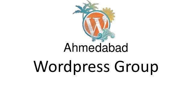 Ahmedabad Wordpress Group