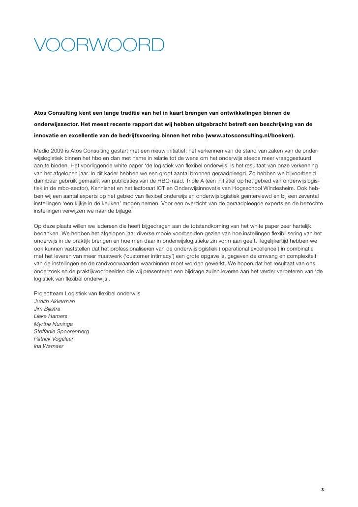 voorwoord portfolio voorbeeld Wphb oonderzoek