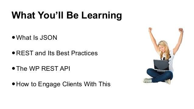 Wp JSON API and You! Slide 2