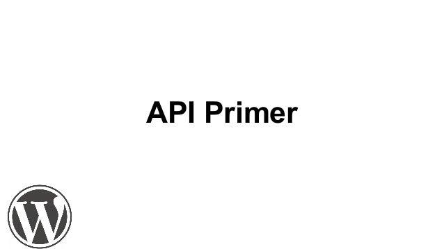 Wp JSON API and You! Slide 3