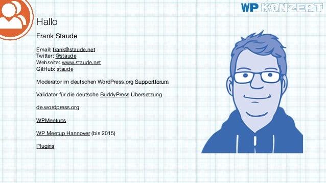Wp meetup franken-buddy-press-einführung Slide 2