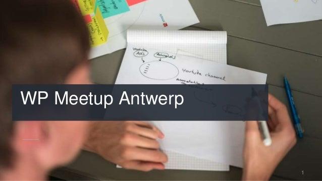 WP Meetup Antwerp 1