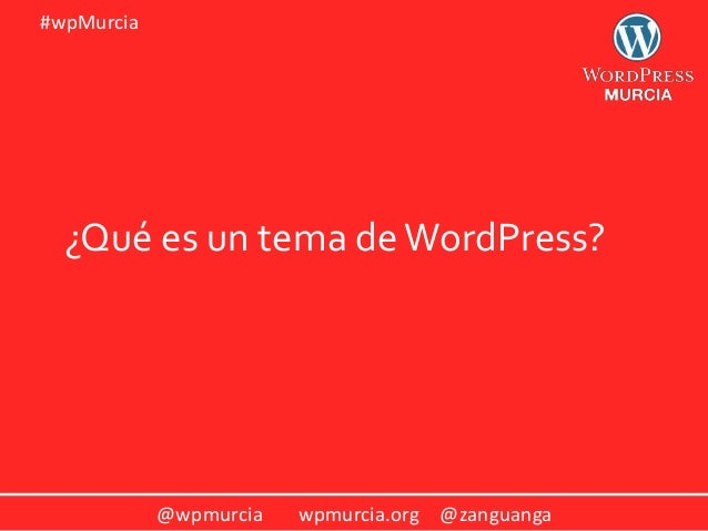 Aprende a crear tu propio tema hijo de WordPress (taller)