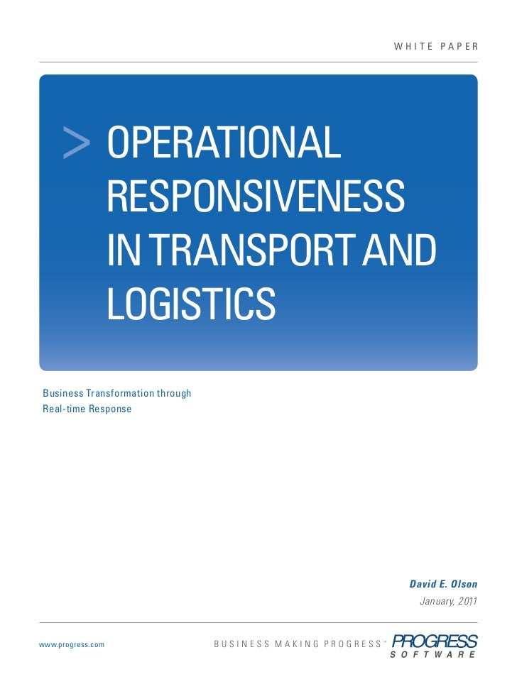 us ™tend         ®                                                   WHITE PAPER                      > OPERATIONALtarvice...