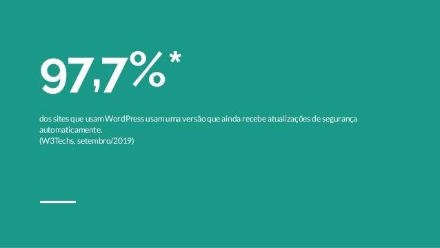 Pensar o WordPress como um desenvolvedor eficiente para quem gosta de