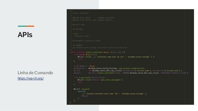 APIs REST API https://developer.wordpress.org/rest-api/